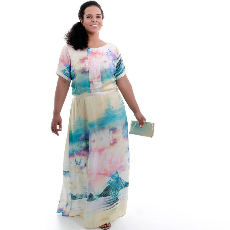 Vestido Copacabana Plus Size