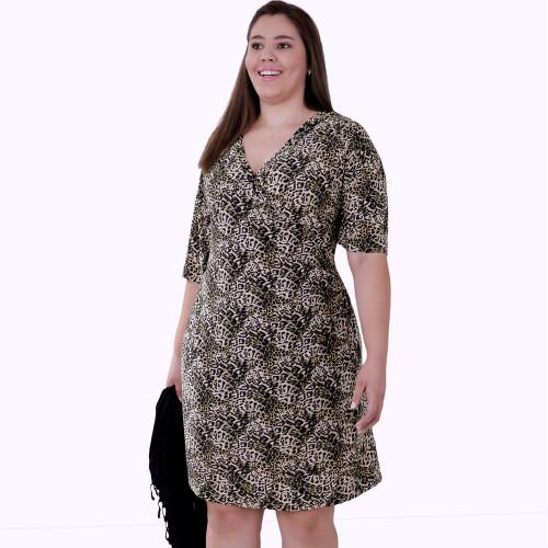 Vestido Gal Plus Size