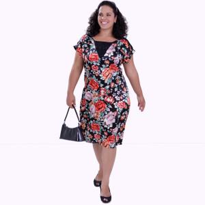 Vestido Garden Estampado Plus Size