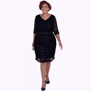 Vestido Greta Black Plus Size