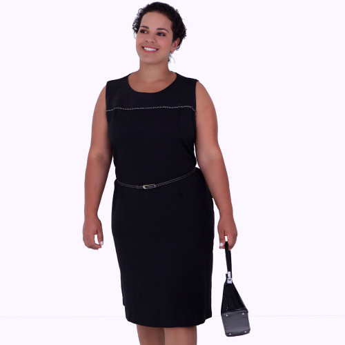 Vestido Helen Black Plus Size