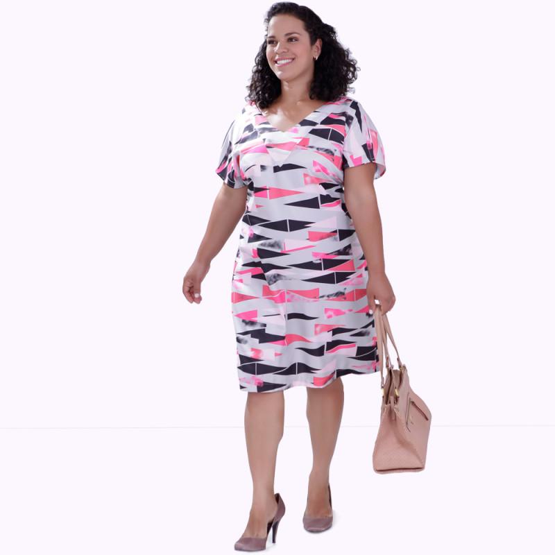 Vestido Japo Plus Size