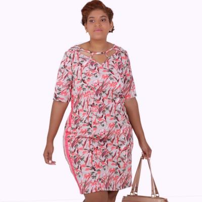 Vestido Maísa Decote Vazado Plus Size