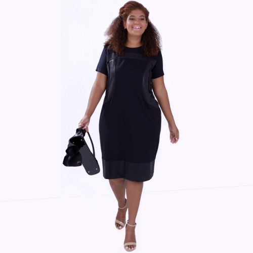 Vestido Mix Malha Geórgia Plus Size