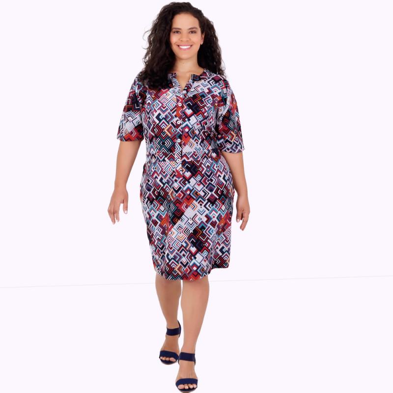 Vestido Polo Rizon Plus Size