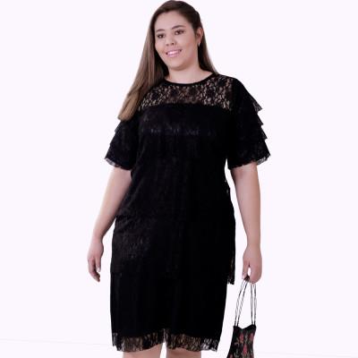 Vestido Renda Divine Plus Size