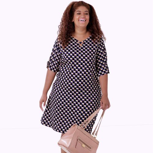 Vestido Sweet Viscose Plus Size