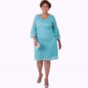 Vestido Turmalina Renda Plus Size