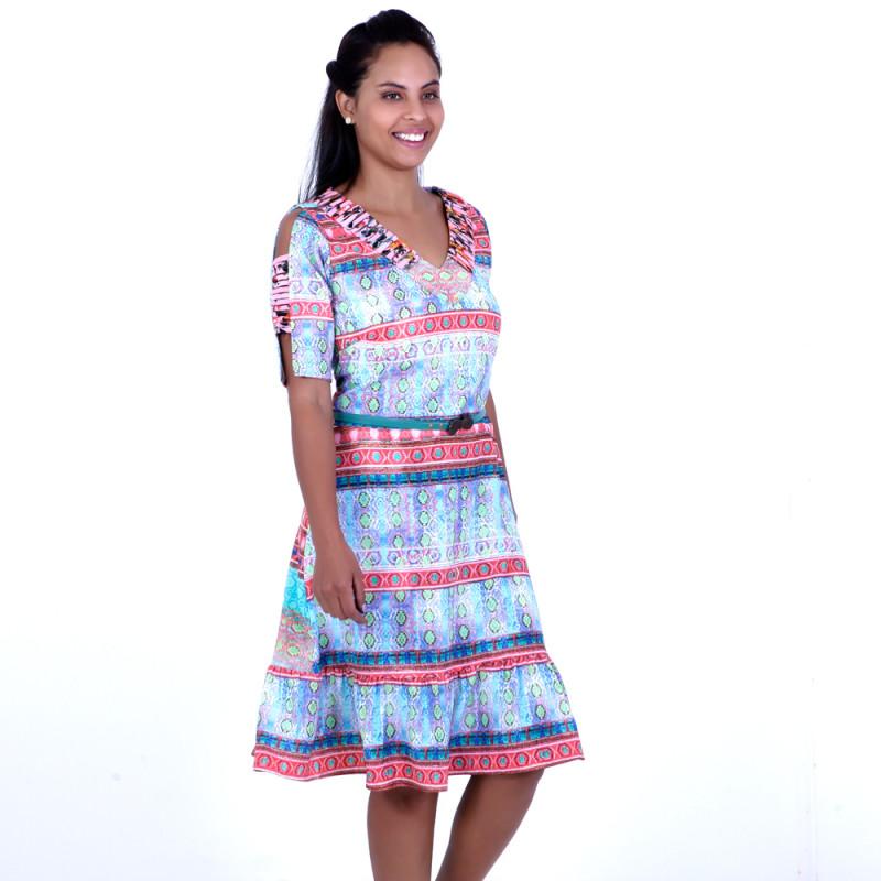Vestido Decote PassanteTelma